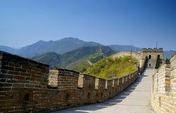 mur grand de mutianyu Images libres de droits