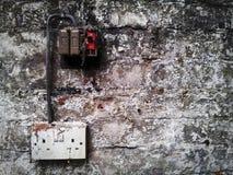 Mur grunge Images libres de droits