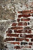 Mur grunge de fond de brique Photo libre de droits