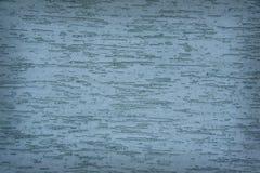 Mur grunge de plâtre horizontal de turquoise avec les bords obscurcis Photo stock