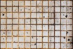 Mur grunge de tuile, fond texturisé fortement détaillé photo libre de droits