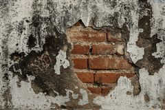 Mur grunge du vieux mur de texture de maison/fond vieux Image stock