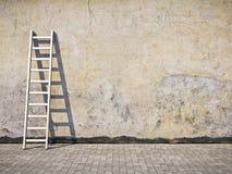 Mur grunge modifié blanc illustration de vecteur