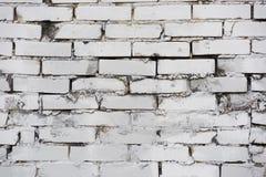 Mur inégal de brique légère photo libre de droits