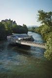 Mur island Graz Stock Image