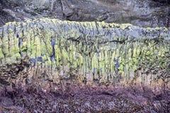 Mur Islande de basalte photos libres de droits