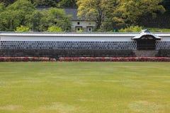 Mur japonais de château Photographie stock