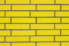 Mur jaune Image stock
