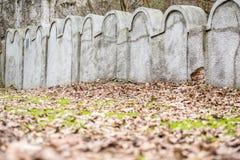 Mur juif de ghetto, Cracovie, Pologne image stock