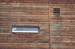 Mur latéral d'une grange Photo libre de droits
