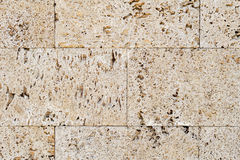 Mur libanais indigène de pierre à chaux image stock