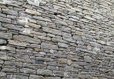 Mur libanais indigène de pierre à chaux Photos libres de droits