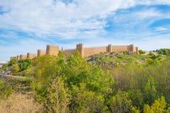 Mur médiéval autour de la ville d'Avila photographie stock libre de droits