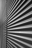 Mur métallique ondulé Photographie stock