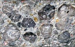 Mur modelé par roche Photographie stock
