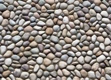Mur modelé par roche de rivière Image libre de droits