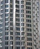 Mur moderne de construction Photo libre de droits