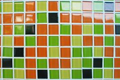 Mur moderne multicolore photos stock