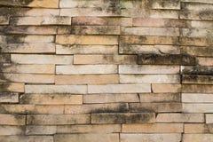 Mur modifié Photos stock