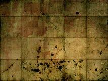 Mur modifié et de rouille Image libre de droits