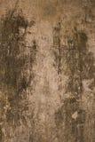 Mur noir et gris âgé de plâtre Image stock