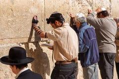 Mur occidental à Jérusalem Photo libre de droits