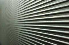 Mur ondulé gris Images libres de droits