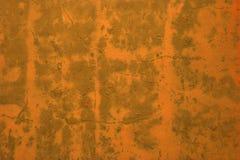 Mur orange photographie stock libre de droits