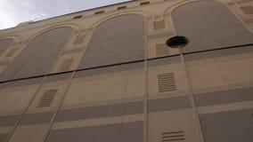 Mur oriental d'architecture banque de vidéos