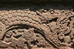 Mur - parc de Beihai - Pékin - la Chine Image libre de droits