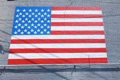 Mur patriotique de bâtiment Photos stock