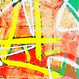 Mur peint Images stock