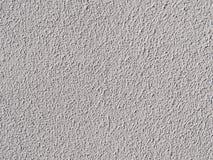 Mur peint par blanc avec le plâtre structurel Photo libre de droits