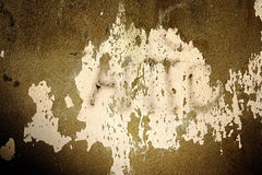 Mur peint sale Photos stock