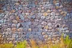Mur pittoresque Images libres de droits