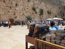 Mur pleurant, Jérusalem Photographie stock libre de droits