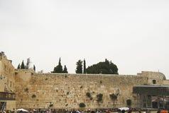 Mur pleurant le lieu de pleurer, J?rusalem, vieille ville photos stock