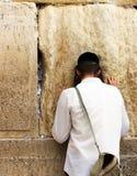 Mur pleurant (mur occidental) Photo libre de droits