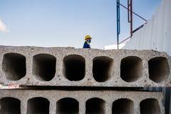 Mur prêt à l'emploi de ciment Image libre de droits
