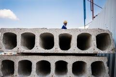 Mur prêt à l'emploi de ciment Photos stock