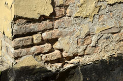 Mur putréfié Images stock