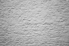 Mur rendu blanc Photographie stock libre de droits