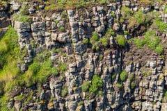 Mur rocheux Photos libres de droits