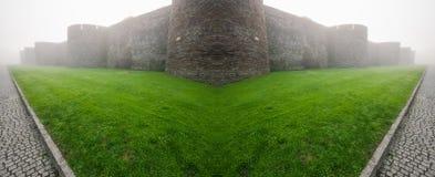 Mur romain de Lugo, Galicie Image libre de droits