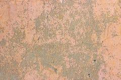 Mur rose sale de texture de moule de béton et de ciment de vieux cru criqué grunge ou fond de plancher avec la peinture superfici photographie stock libre de droits