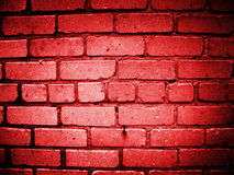 Mur rouge Image stock