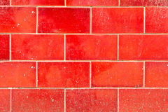 Mur rouge photographie stock