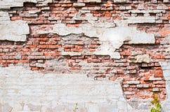 Mur rouge Images libres de droits