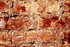 Mur rouge. Image libre de droits