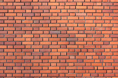 Mur rouge Photo libre de droits
